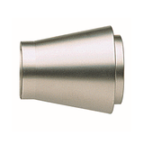 Lisbon Inca Finial, finish 29 satin nickel