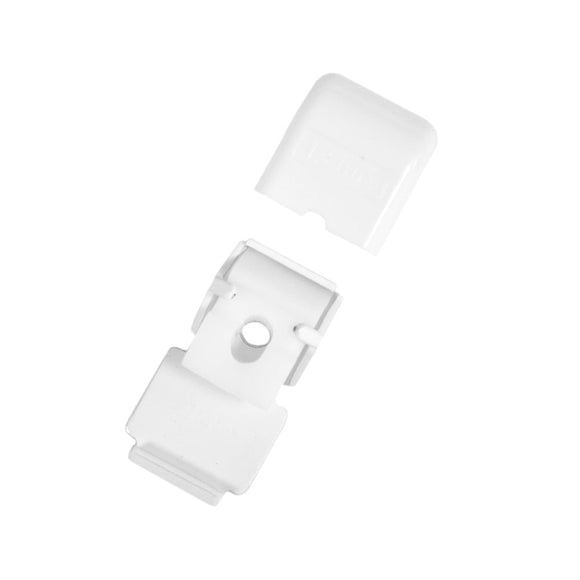 KS ceiling clip with cover white