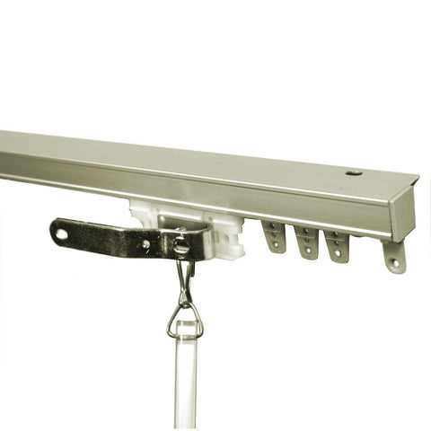 One Way Right Ceiling Mount Curtain Track Set Curtain