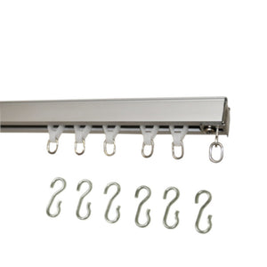 9600 Hand Draw Ceiling Mount Set-Optional S Hooks