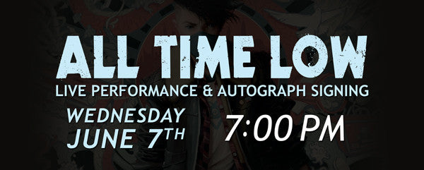 All Time Low Live Performance & Autographed Signing