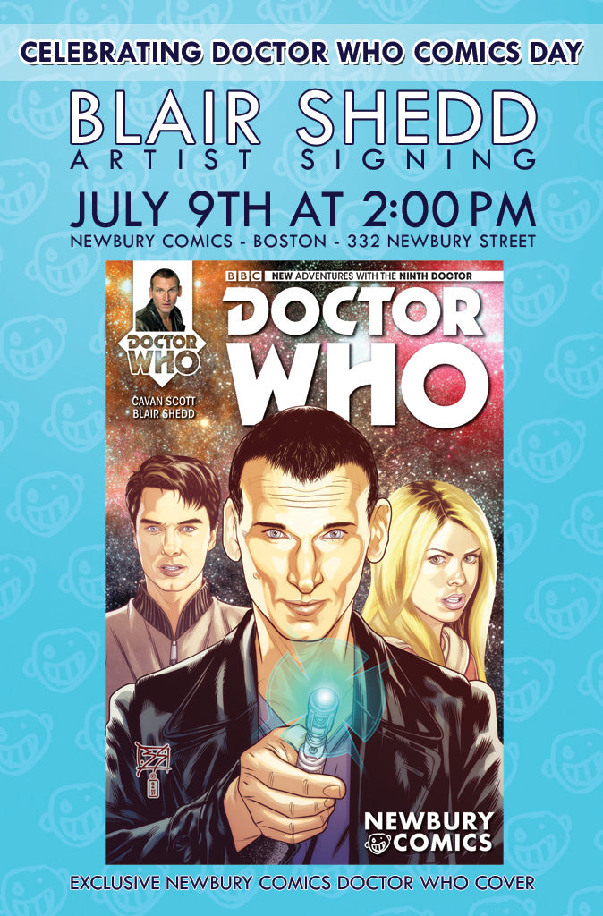 Blaid Shedd Artist Signing July 9th At 2 PM - Newbury Comics Newbury Street Boston