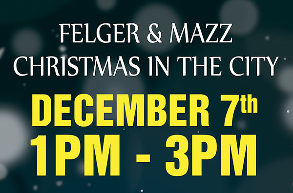 Felger & Mazz Christmas In The City - Natick location December 7th 1:00-3:00 PM