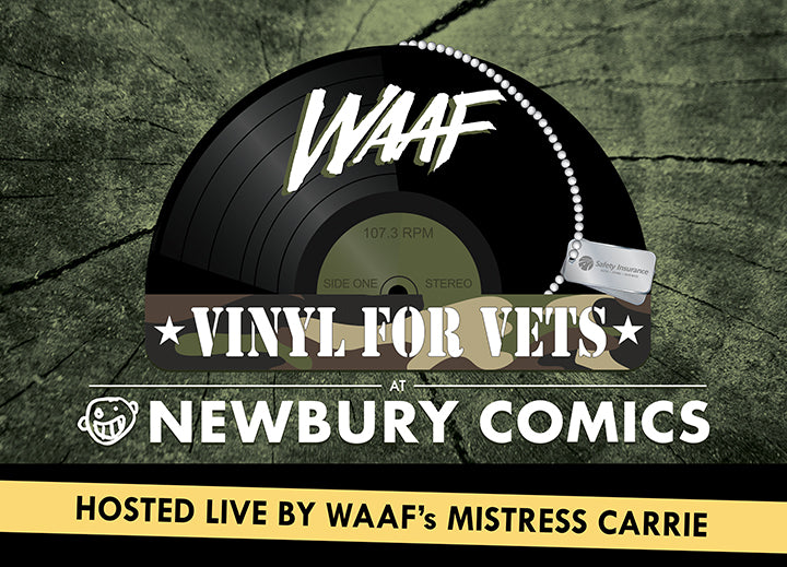 WAAF Vinyl For Vets Hosted By Mistress Carrie