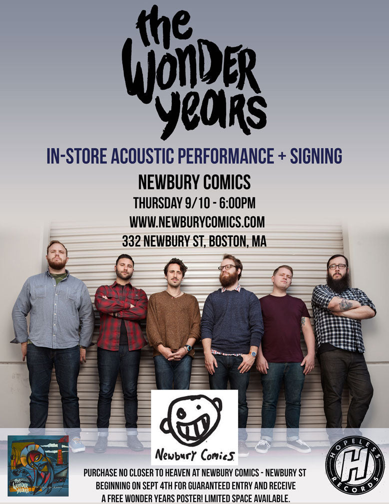 The Wonder Years Acoustic Performance