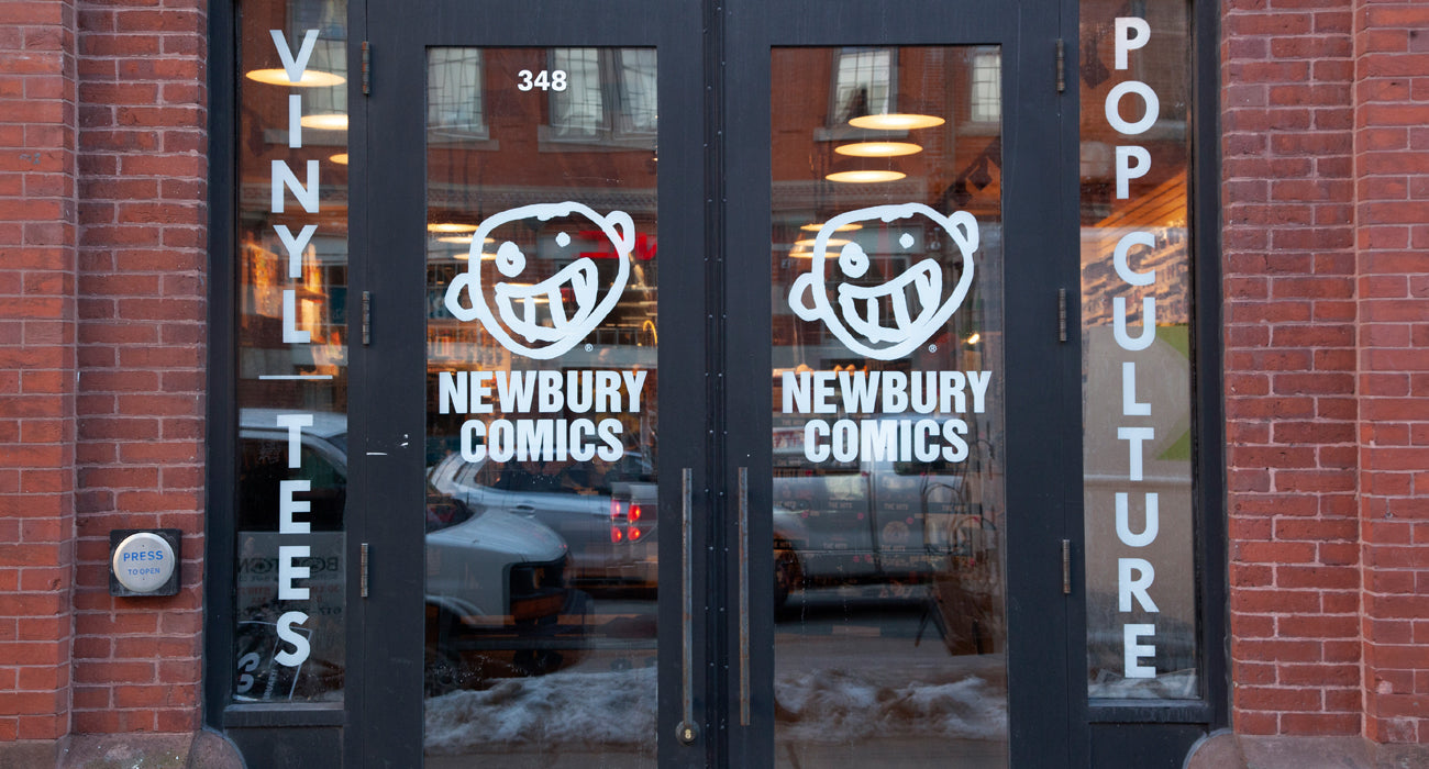 Newbury Comics Boston, MA - Newbury Street Location