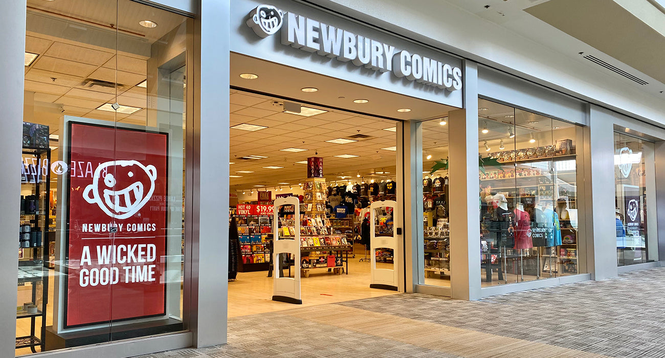 Newbury Comics Nashua, NH Location