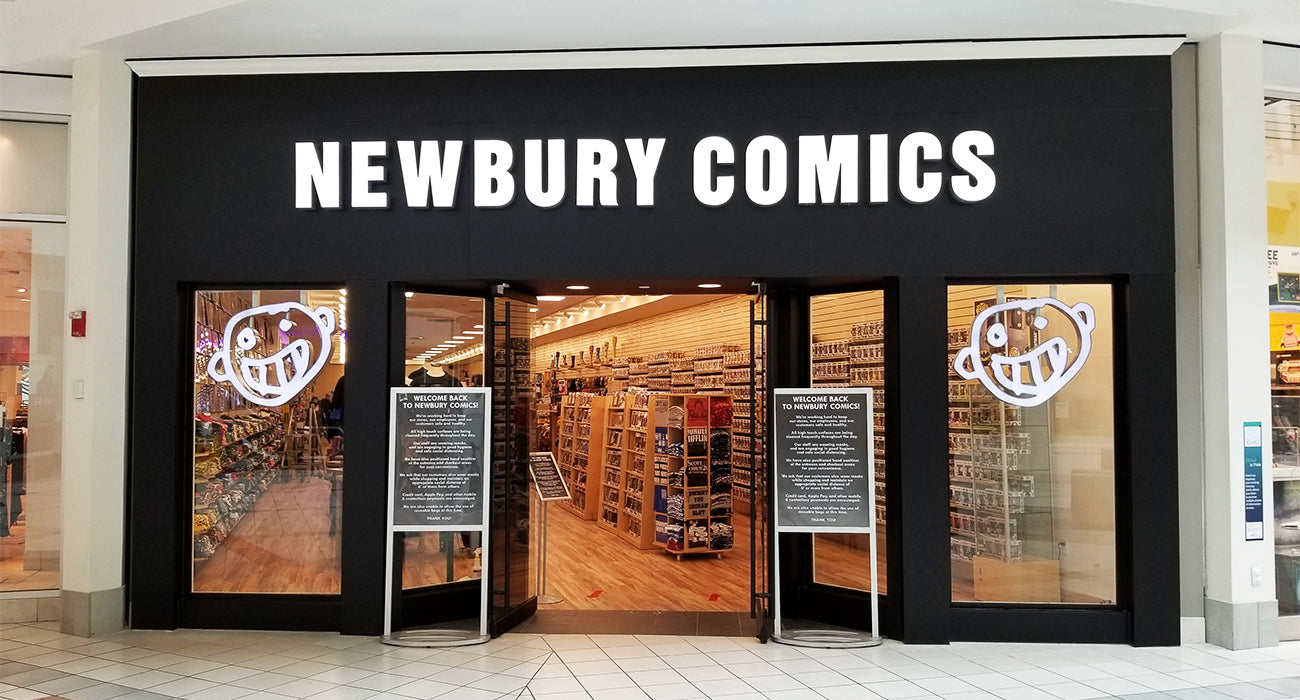 Newbury Comics Braintree, MA Location
