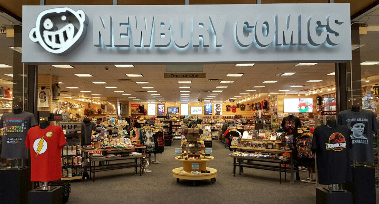 Newbury Comics Marlborough, MA Location