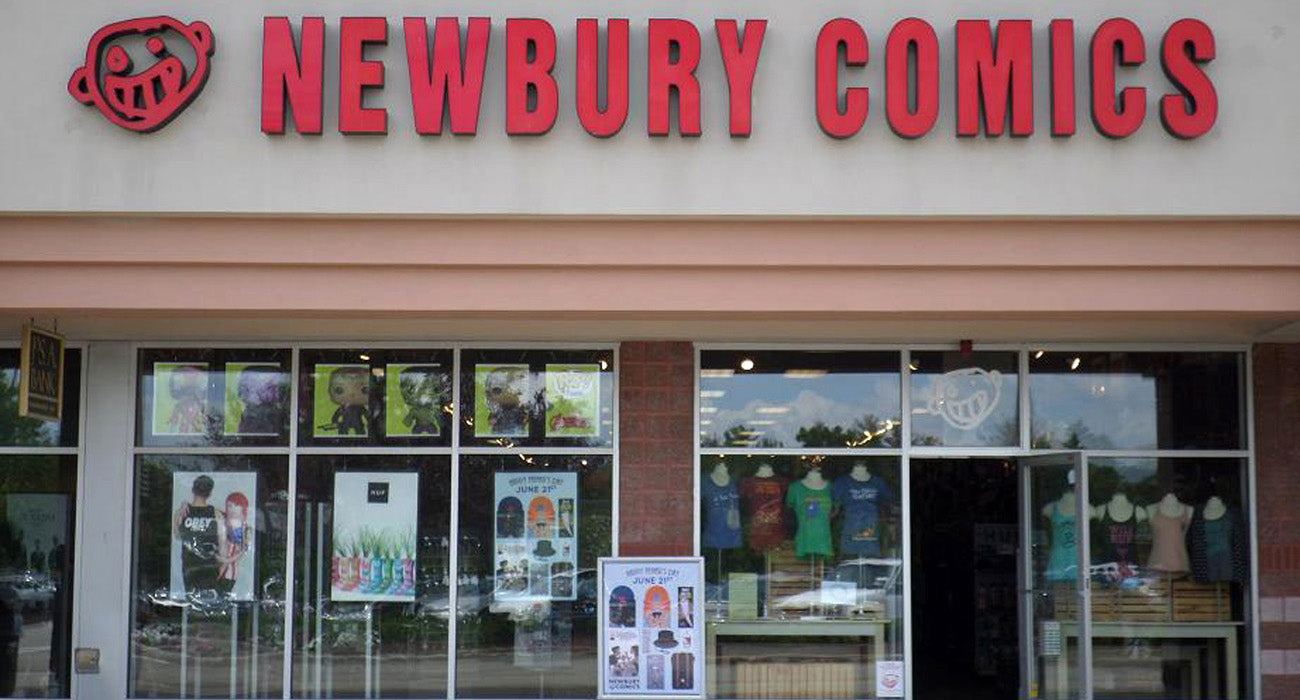 Newbury Comics Bellingham, MA Location