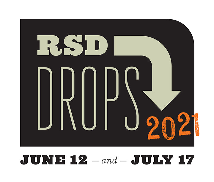 Record Store Day Drops Logo 2021 - June 12, July 17