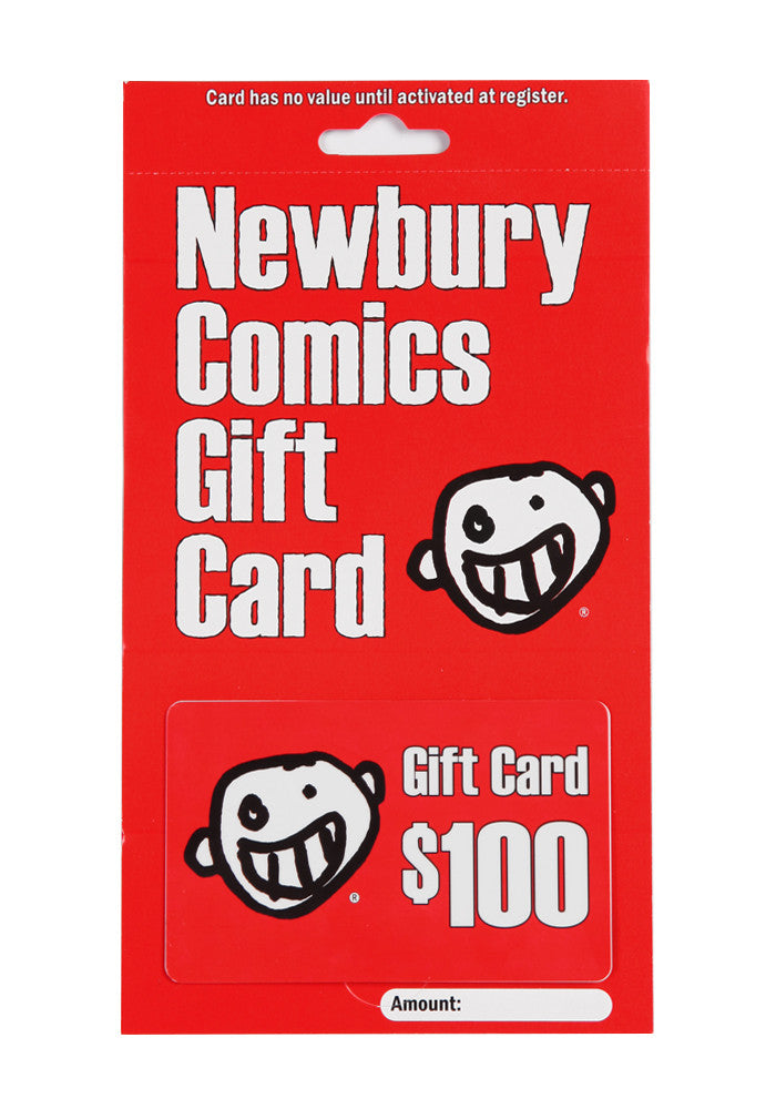 NEWBURY COMICS $100 Store Gift Card