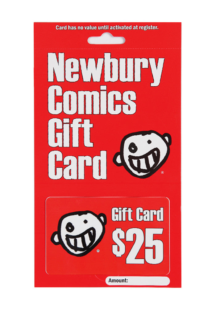NEWBURY COMICS $25 Store Gift Card