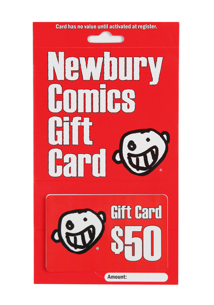 NEWBURY COMICS $50 Store Gift Card