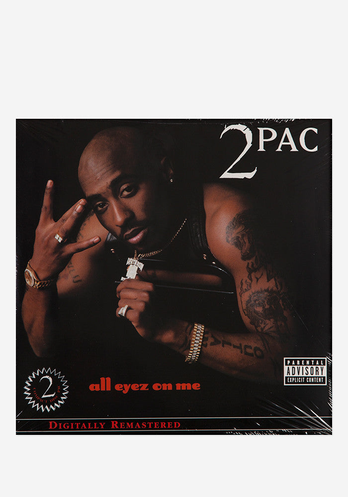 2 PAC All Eyez On Me 4 LP