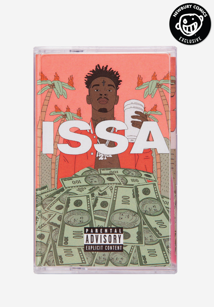 21 SAVAGE Issa Album Exclusive Cassette