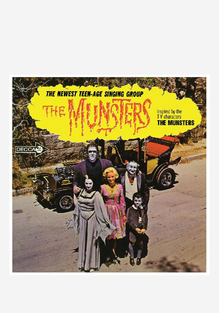 THE MUNSTERS Soundtrack - The Munsters LP (Color)
