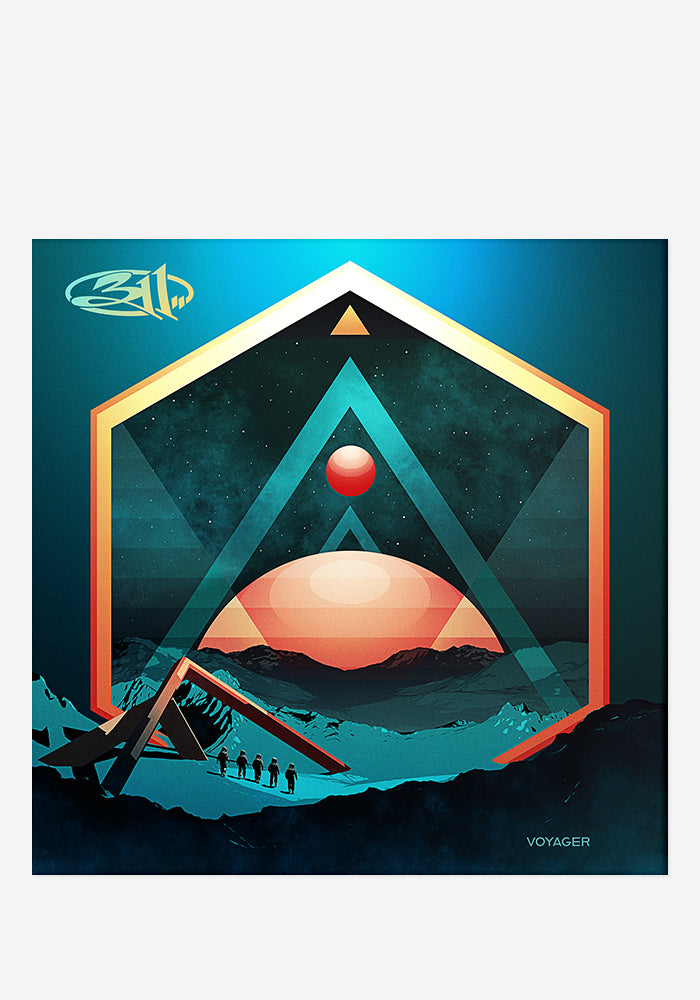 311 Voyager CD With Autographed Booklet