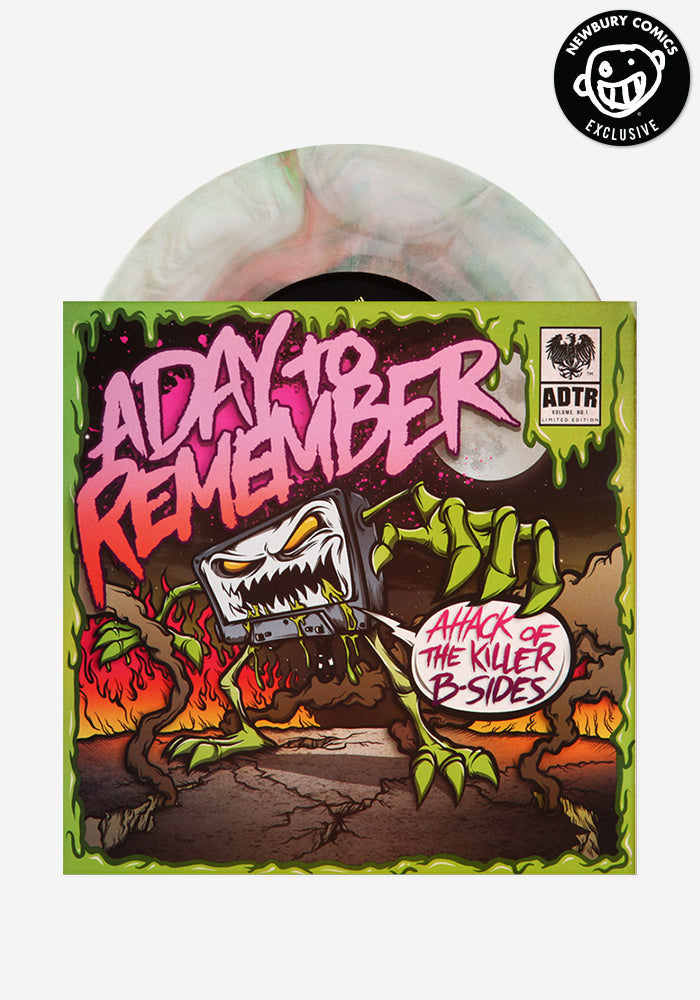 A DAY TO REMEMBER Attack Of The Killer B-Sides Exclusive 7""