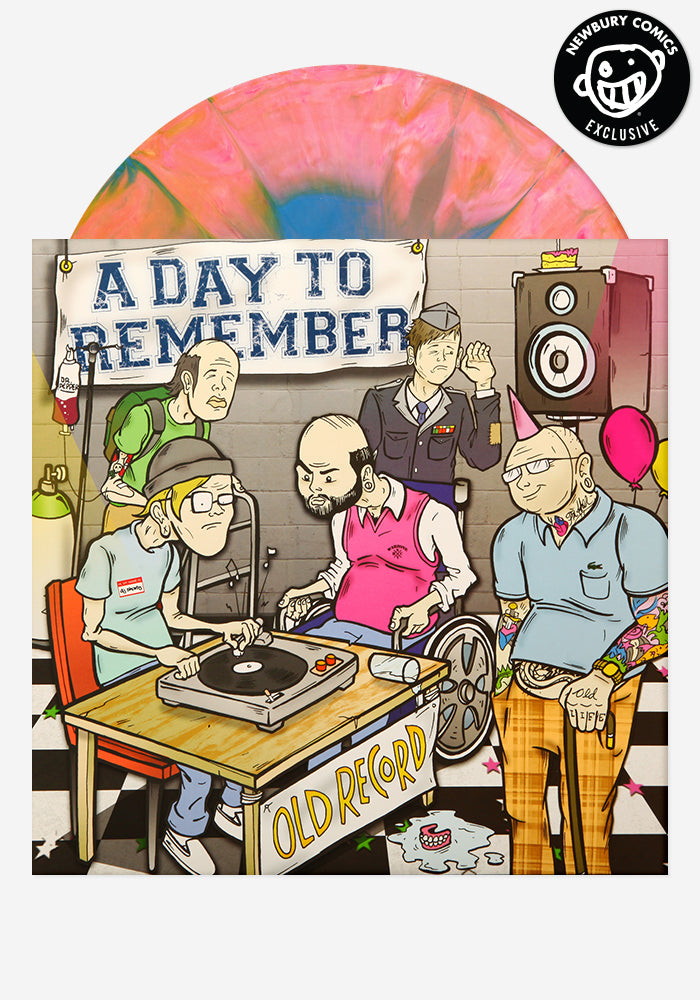 A DAY TO REMEMBER Old Record Exclusive LP