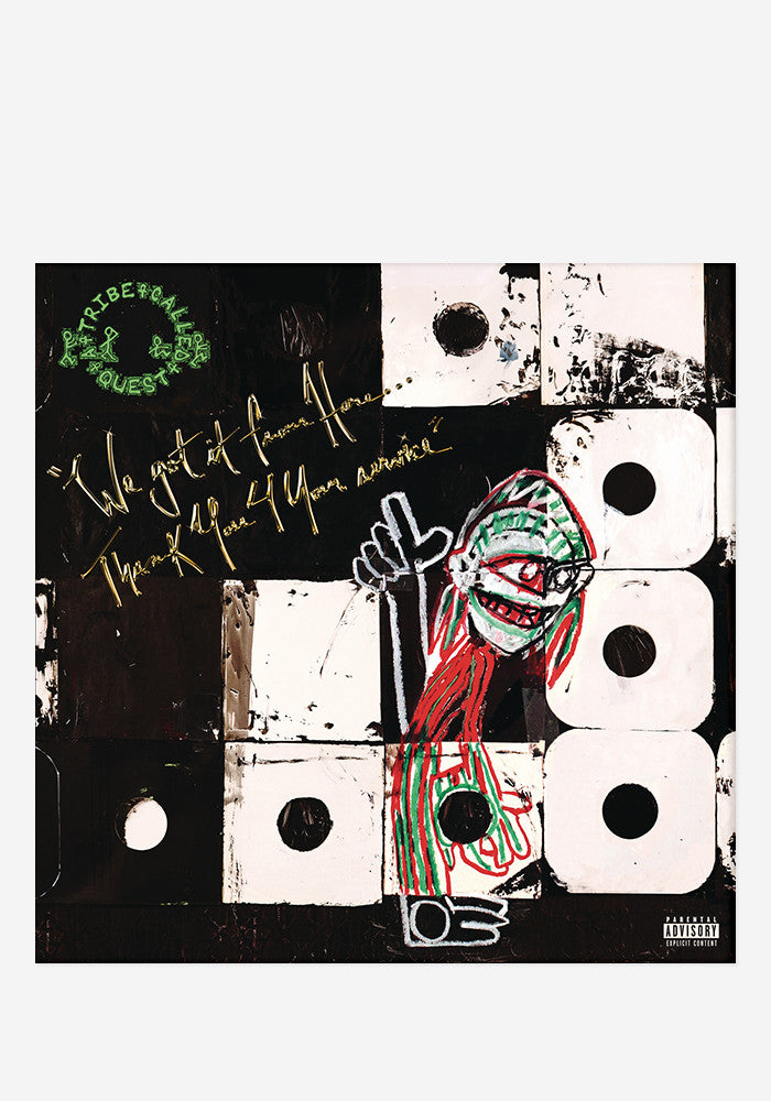 A TRIBE CALLED QUEST We Got It From Here… Thank You 4 Your Service 2 LP