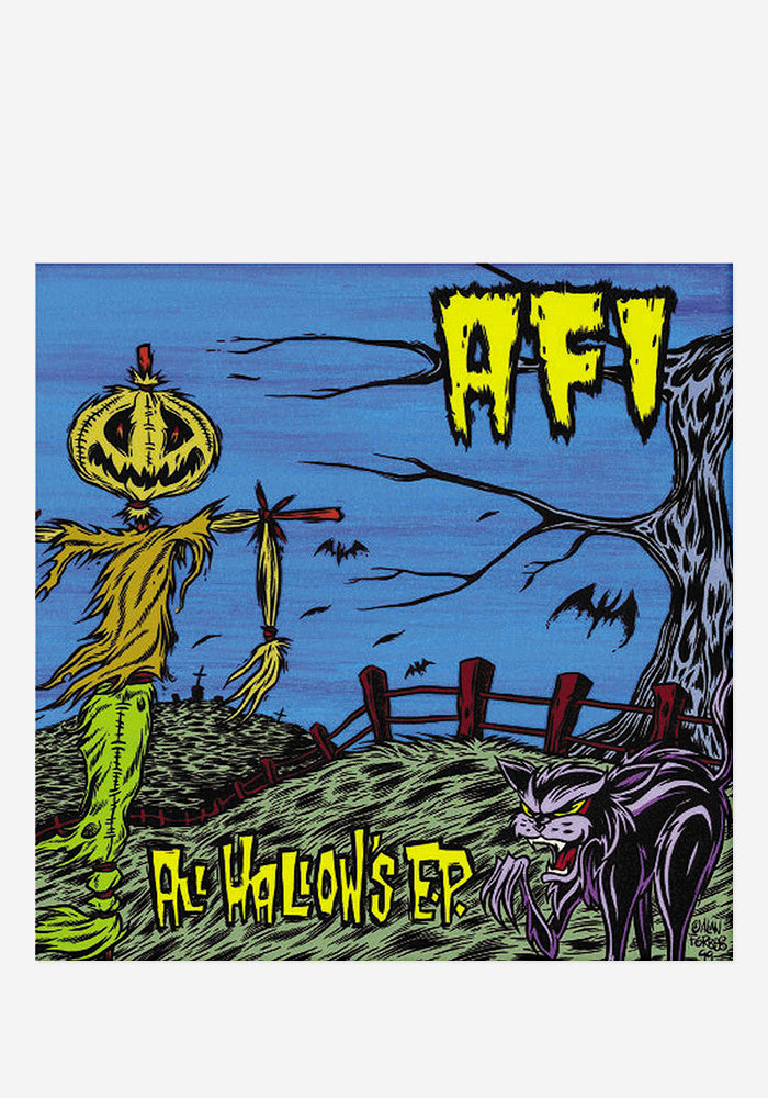 A.F.I. All Hallow's E.P. EP (Orange Vinyl)