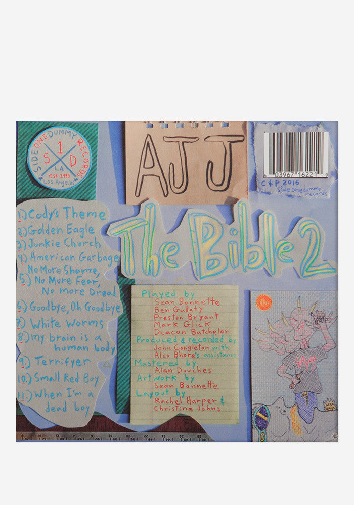 AJJ The Bible 2 Exclusive LP (Pink)