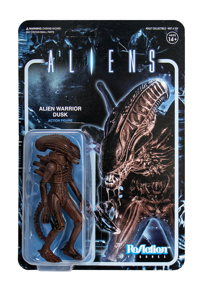 ALIENS Aliens ReAction Figure - Alien Warrior (Dusk Brown)