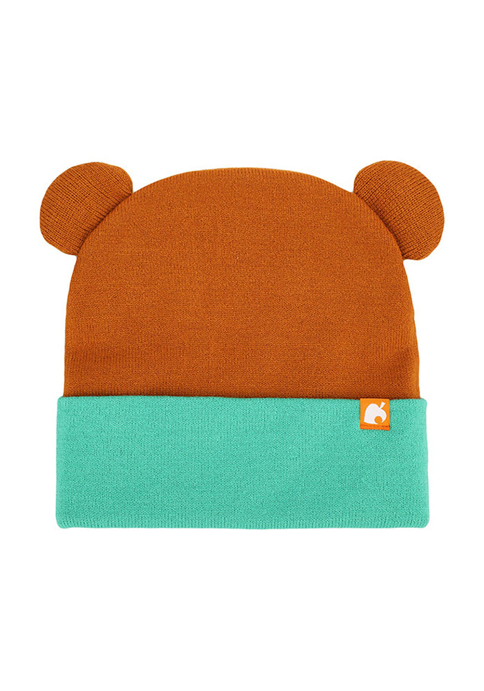 ANIMAL CROSSING Tom Nook Big Face Beanie With Ears