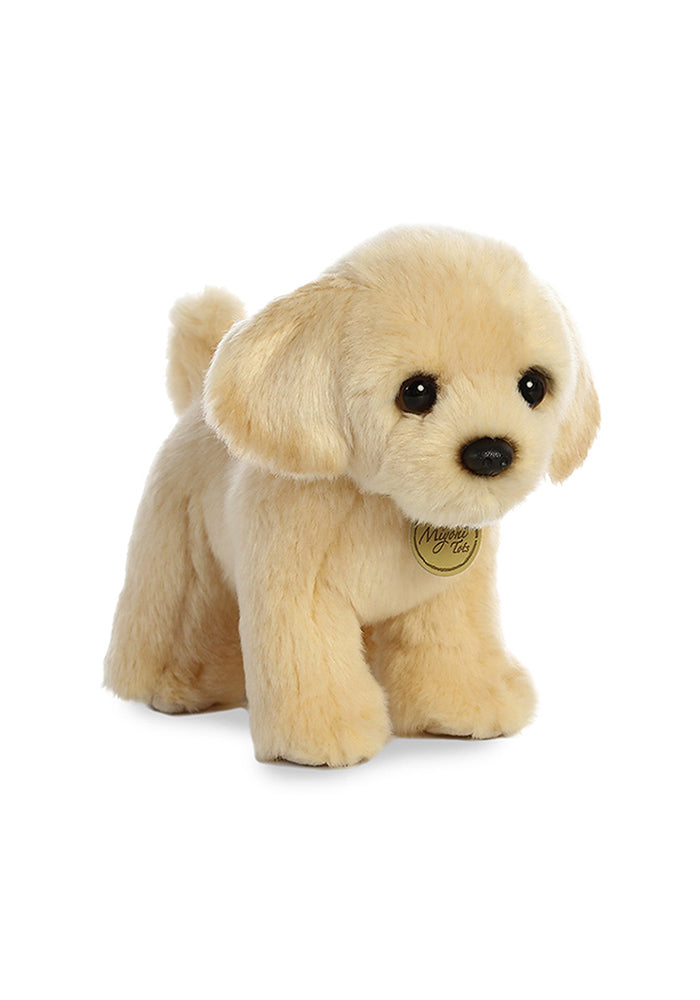 "AURORA Miyoni Tots Golden Lab Pup 10"" Plush"