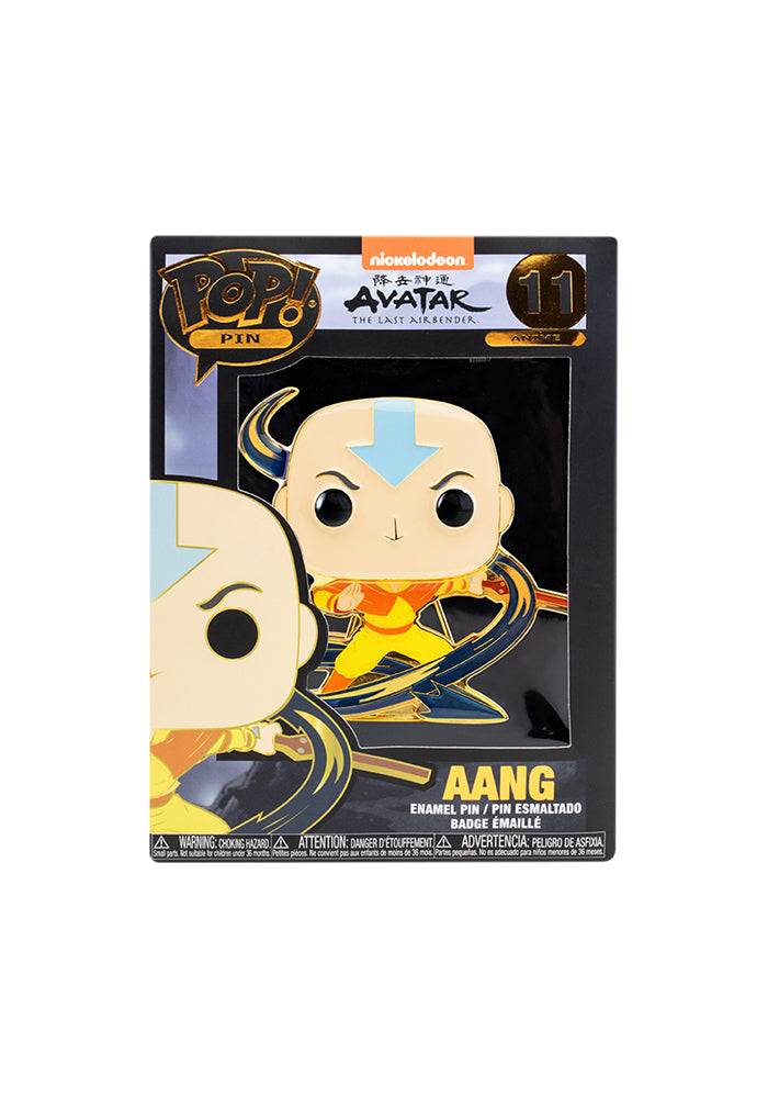 AVATAR Funko Pop! 4-Inch Enamel Pin: Avatar: The Last Airbender - Aang