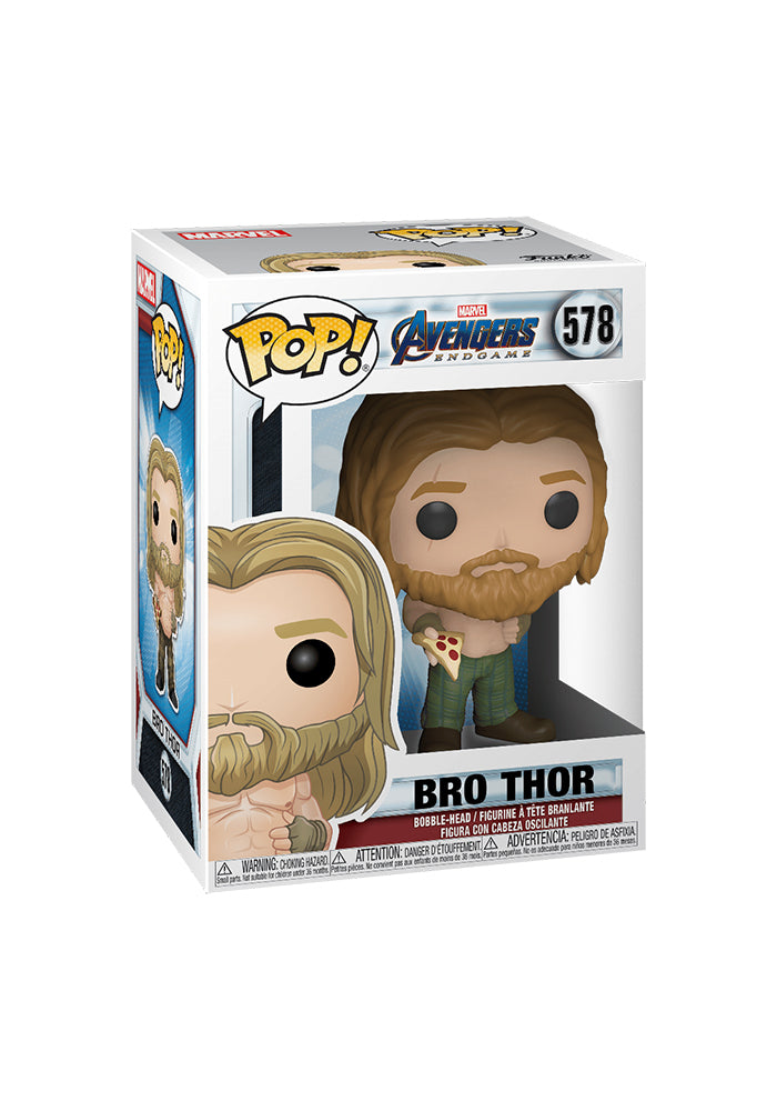 AVENGERS Funko Pop! Marvel: Avengers Endgame - Bro Thor With Pizza
