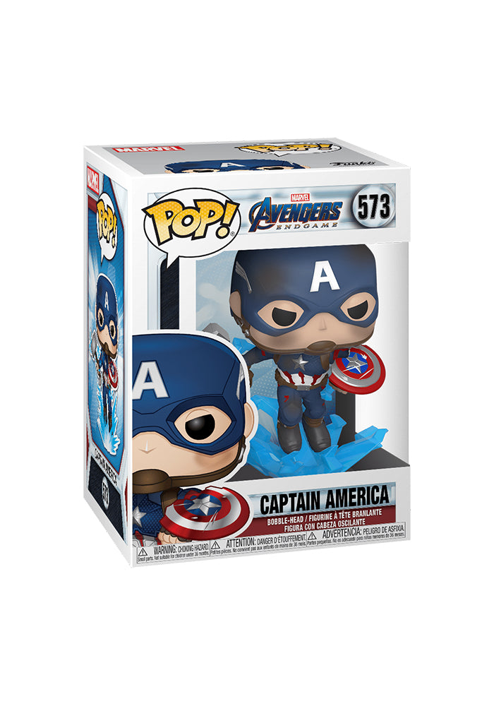 AVENGERS Funko Pop! Marvel: Avengers Endgame - Captain America With Mjolnir