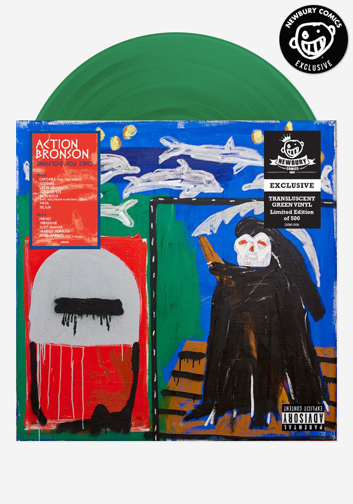 ACTION BRONSON Only For Dolphins Exclusive LP