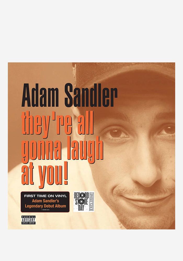 ADAM SANDLER They're All Gonna Laugh At You 2 LP