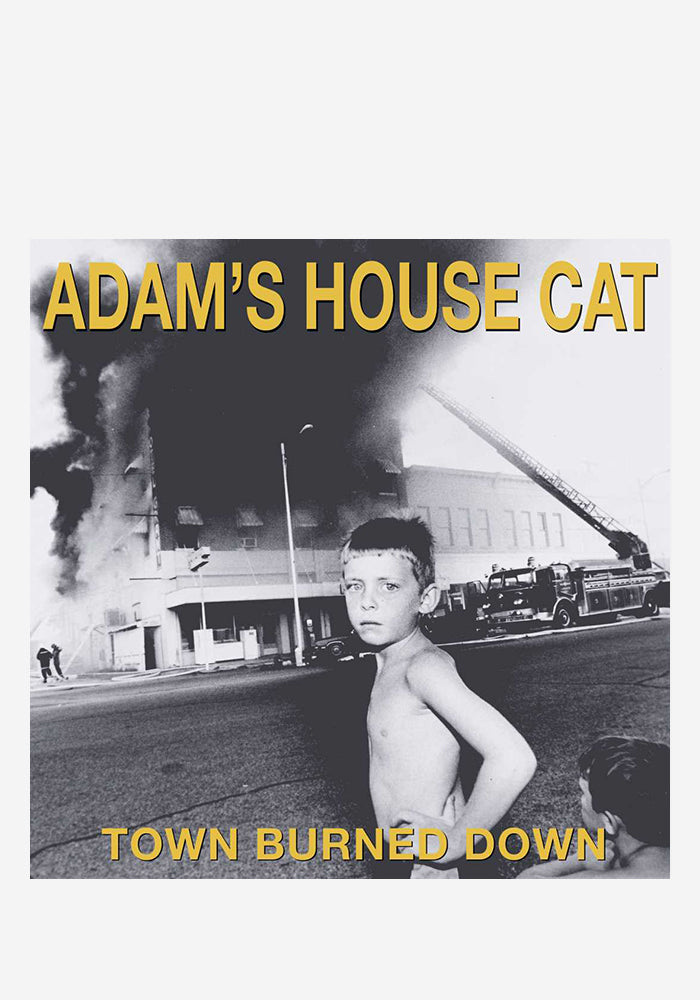 ADAM'S HOUSE CAT Town Burned Down CD With Autographed Booklet