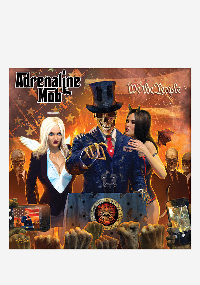 ADRENALINE MOB We The People With Autographed CD Booklet