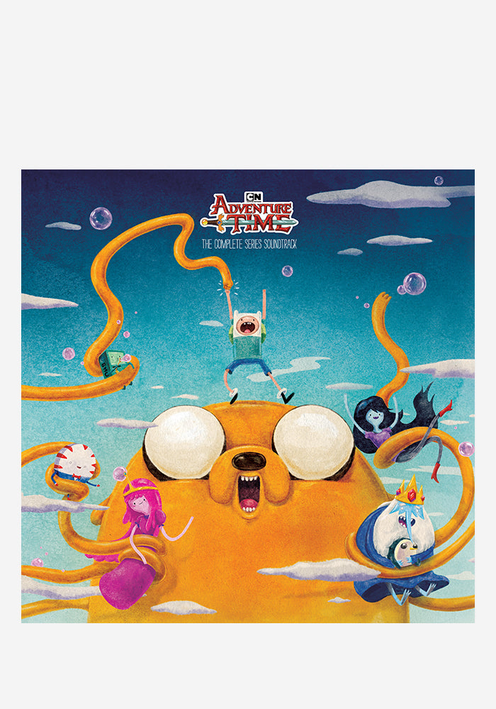 VARIOUS ARTISTS Soundtrack - Adventure Time: The Complete Series 4LP Box Set