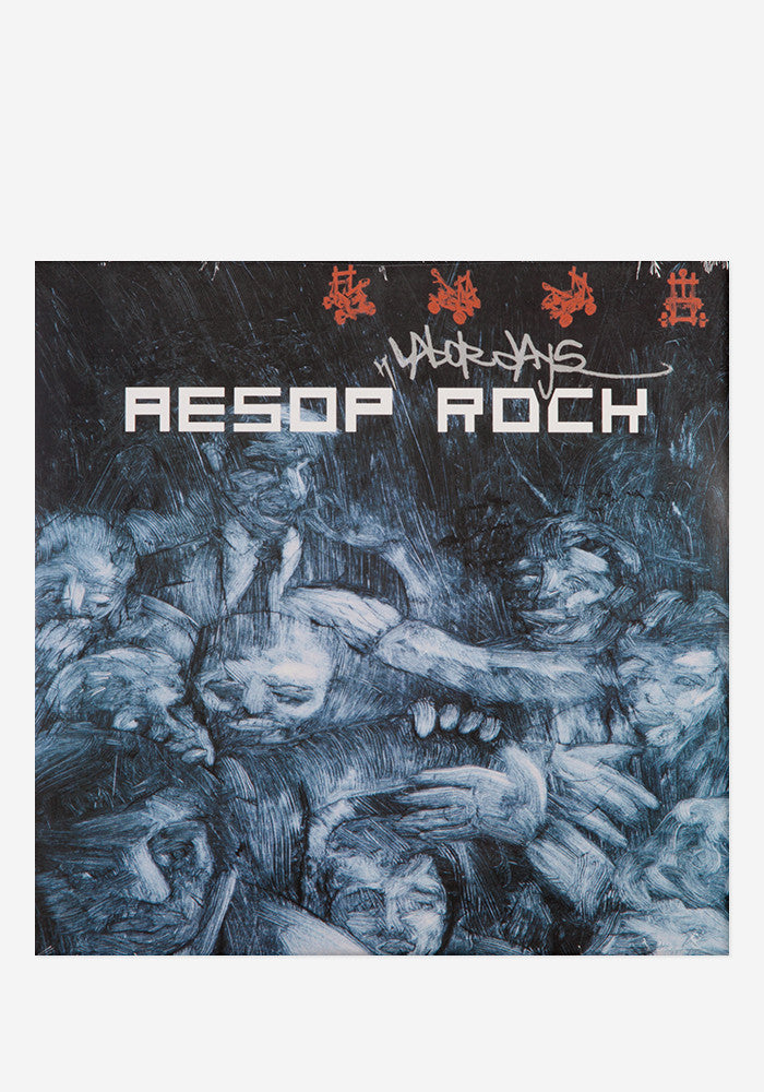 AESOP ROCK Labor Days  2 LP