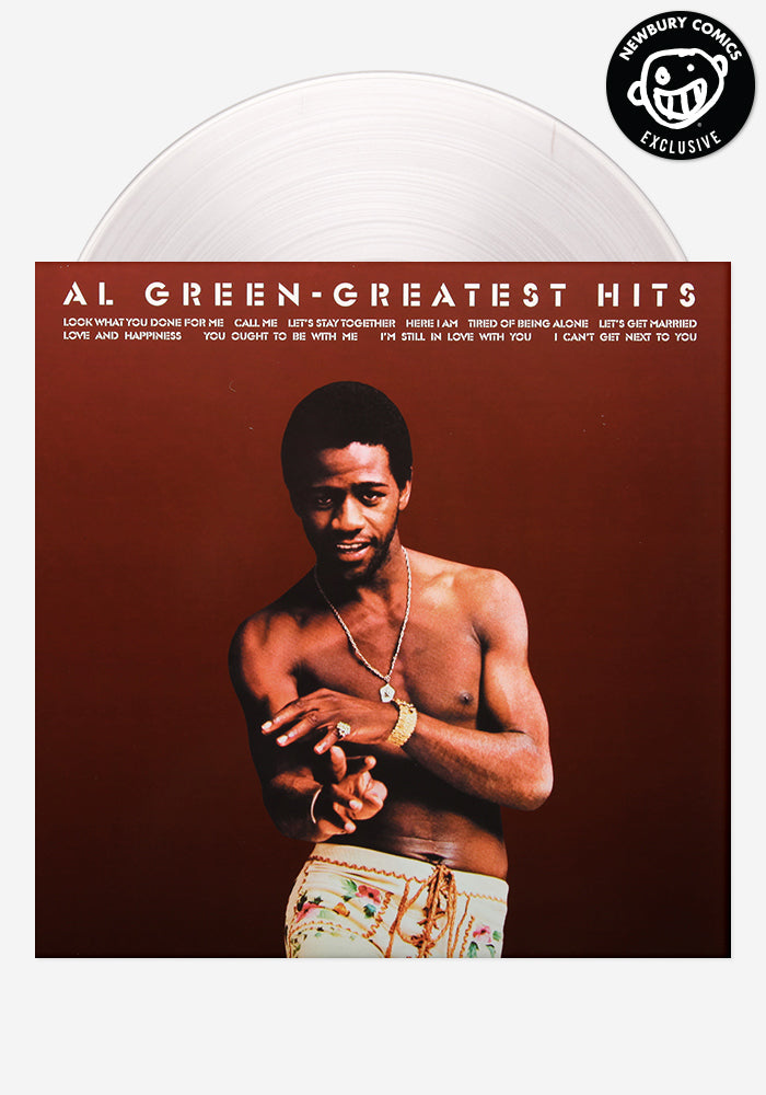 Al Green Greatest Hits LP Record Exclusive Colored Variant Vinyl
