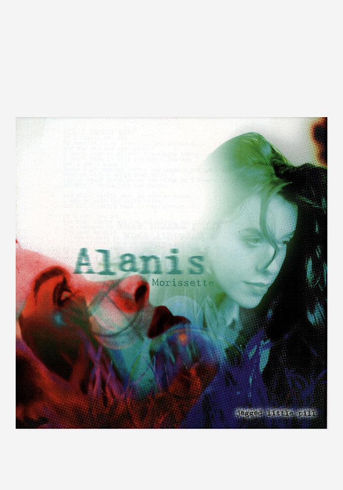 ALANIS MORISSETTE Jagged Little Pill LP