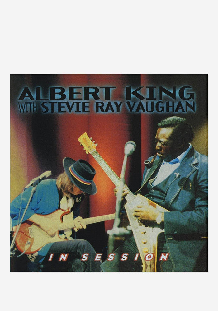 ALBERT KING /STEVIE RAY VAUGHAN In Session LP