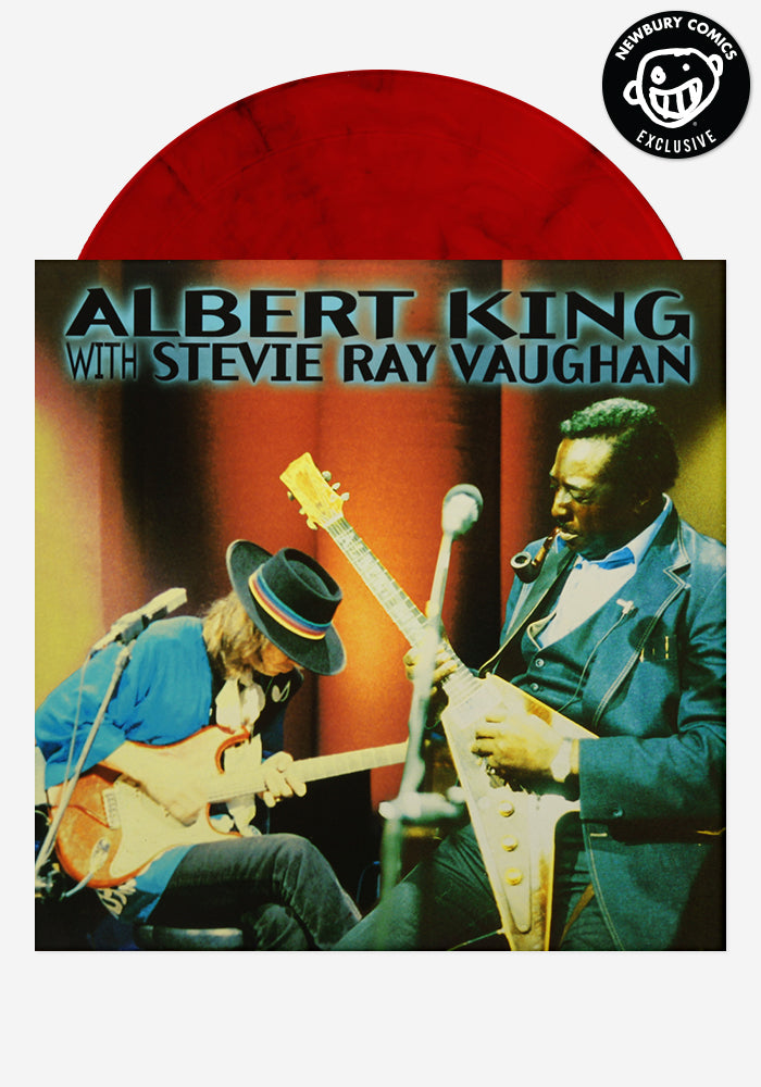ALBERT KING WITH STEVIE RAY VAUGHAN In Session Exclusive LP