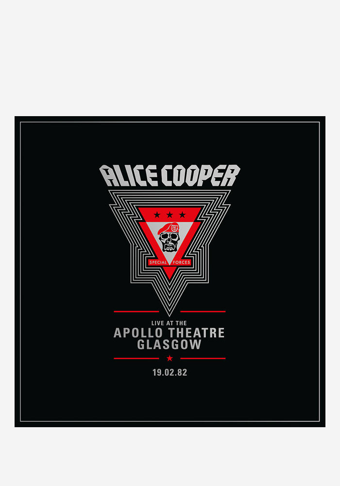ALICE COOPER Live At The Apollo Theatre Glasgow 2LP