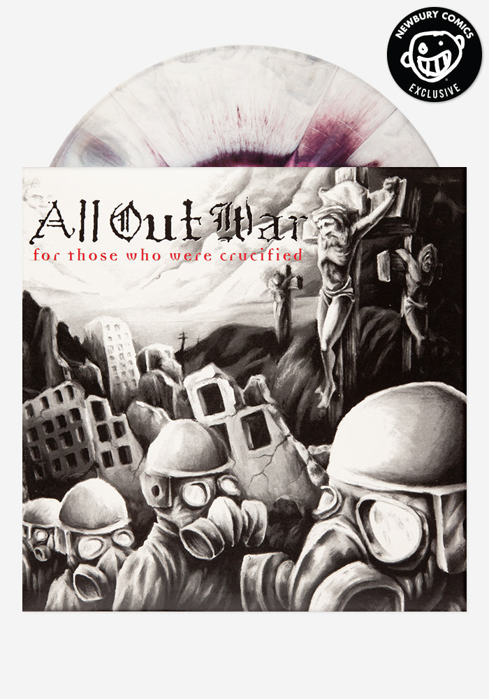 ALL OUT WAR For Those Who Were Crucified Exclusive LP