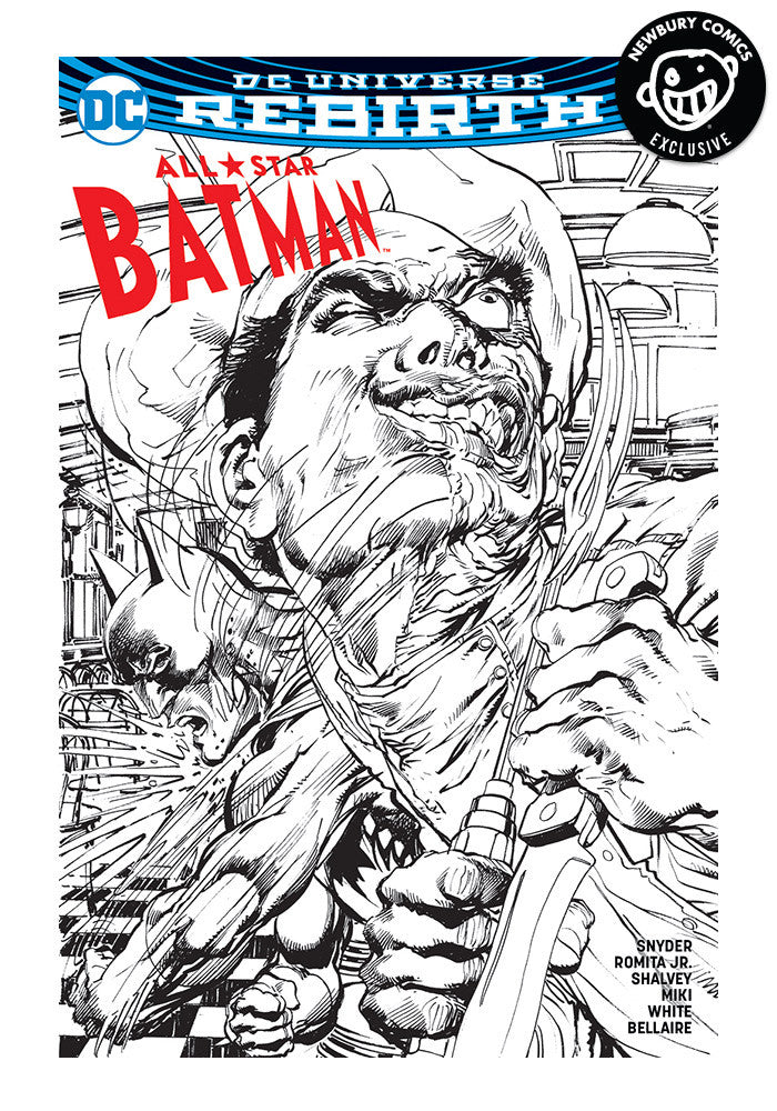 DC COMICS All Star Batman #1 Exclusive Variant Comic (B&W)
