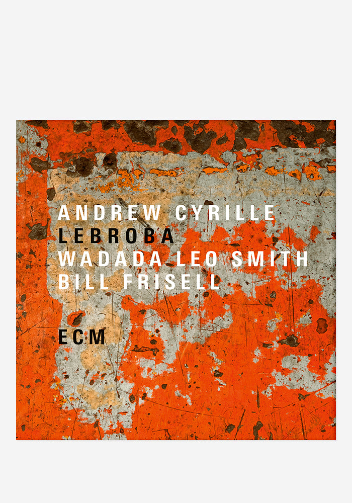 ANDREW CYRILLE / WADADA LEO SMITH / BILL FRISELL Lebroba CD With Autographed Booklet