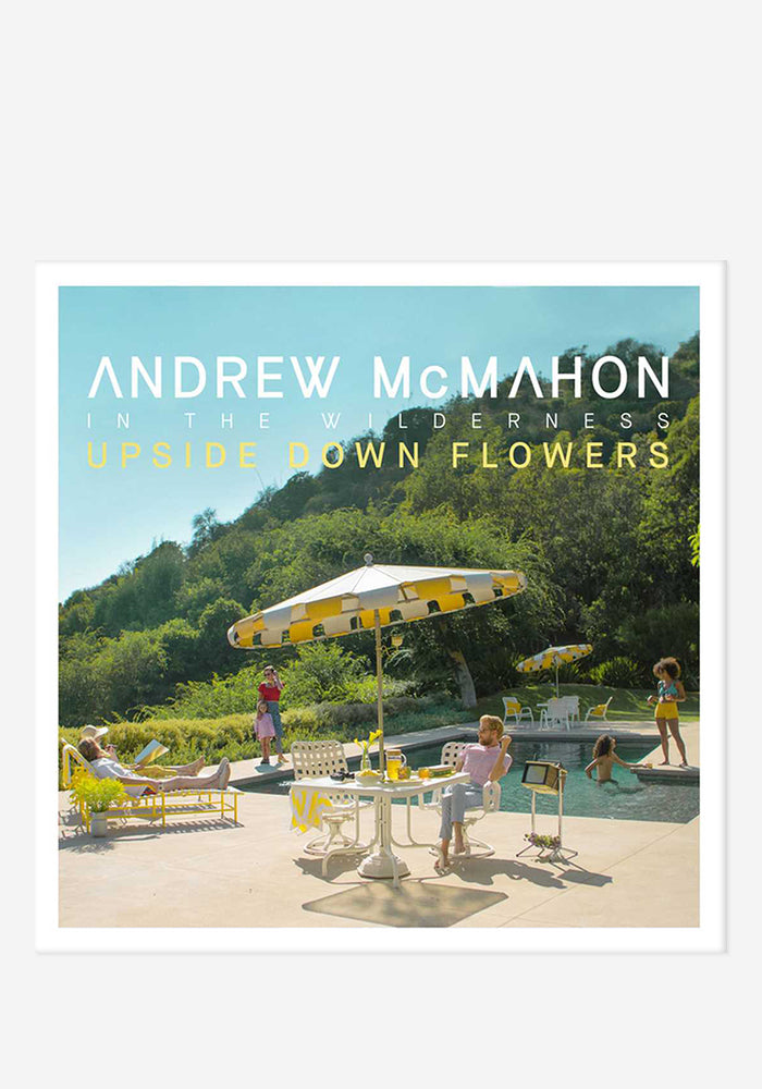 ANDREW MCMAHON IN THE WILDERNESS Upside Down Flowers CD With Autographed Booklet