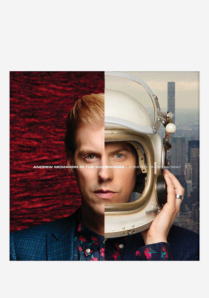 ANDREW MCMAHON IN THE WILDERNESS Zombies On Broadway With Autographed CD Booklet