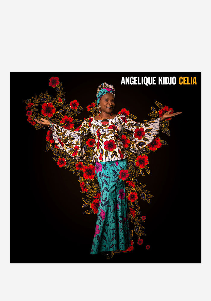 ANGELIQUE KIDJO Celia CD With Autographed Booklet